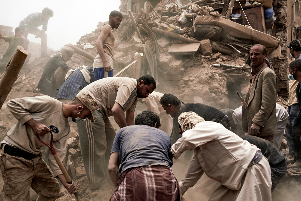 Yemen: Embargo e crimini di guerra le vittime sono i civili