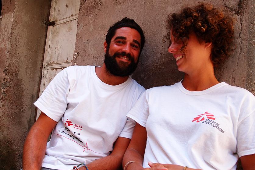 Matteo e Irene un anno insieme in Uganda