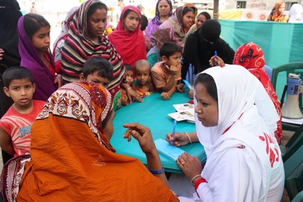 MSF Health Promotion Day a Kamrangirchar - 25 Febbraio 2016