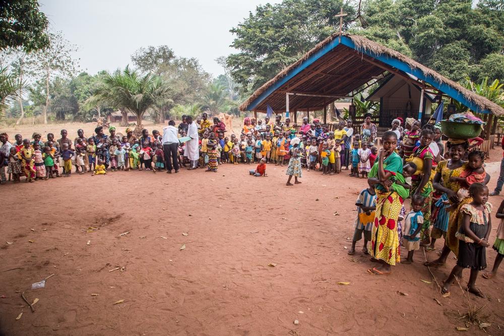 Giornata di vaccinazioni a Berberati. In 5 giorni le nostre équipe hanno vaccinato 14.000 bambini
