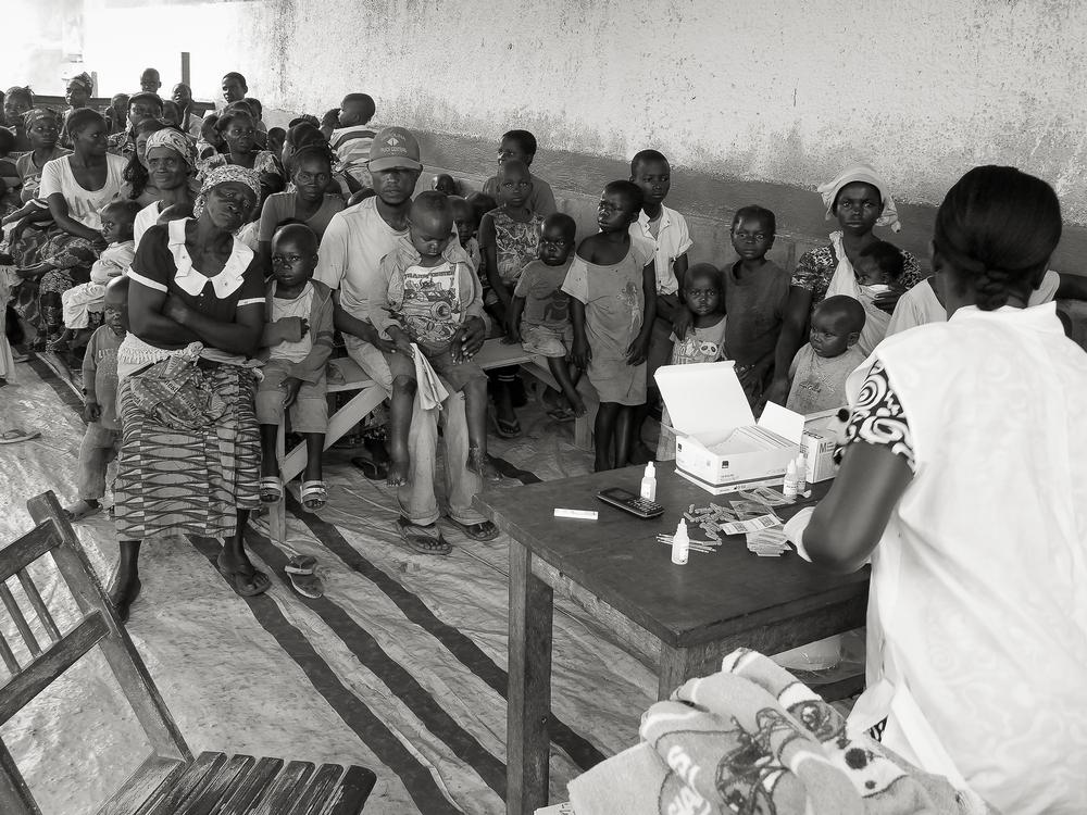 L'équipe di MSF interviene nella provincia di Haut-Uélé nel corso di un'epidemia di malaria