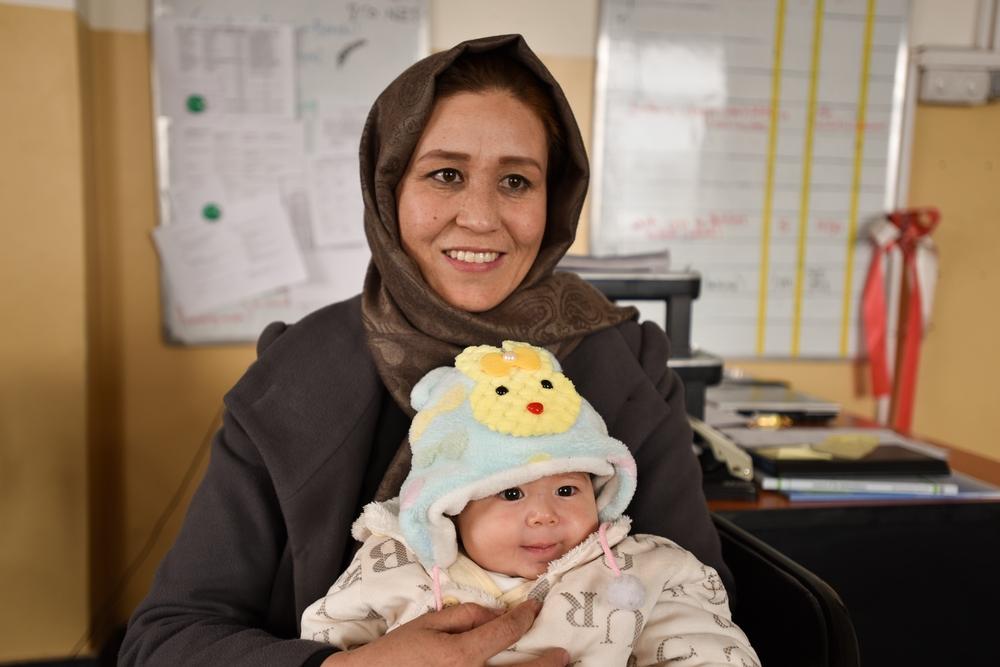 Aqila è ostetrica di MSF nell'ospedale Dasht-e-Barchi a Kabul.