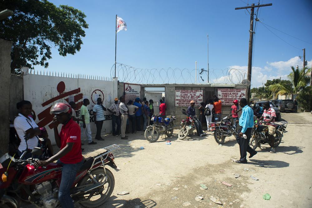 L'ospedale Nap Kenbe di MSF, dove vengono effettuati interventi di chirurgia d'emergenza