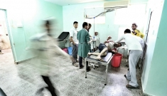 MSF Al-Nasr supported hospital - Al-Dhale,Yemen