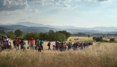 Idomeni migration route, Greece