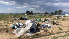 Idomeni camp eviction