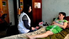Psychosocial care in Ilovaisk, Donetsk region