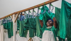 Sierra Leone - New Ebola treatment center in Freetown