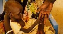 Saving Gatluok, malnutrition in Leer, South Sudan