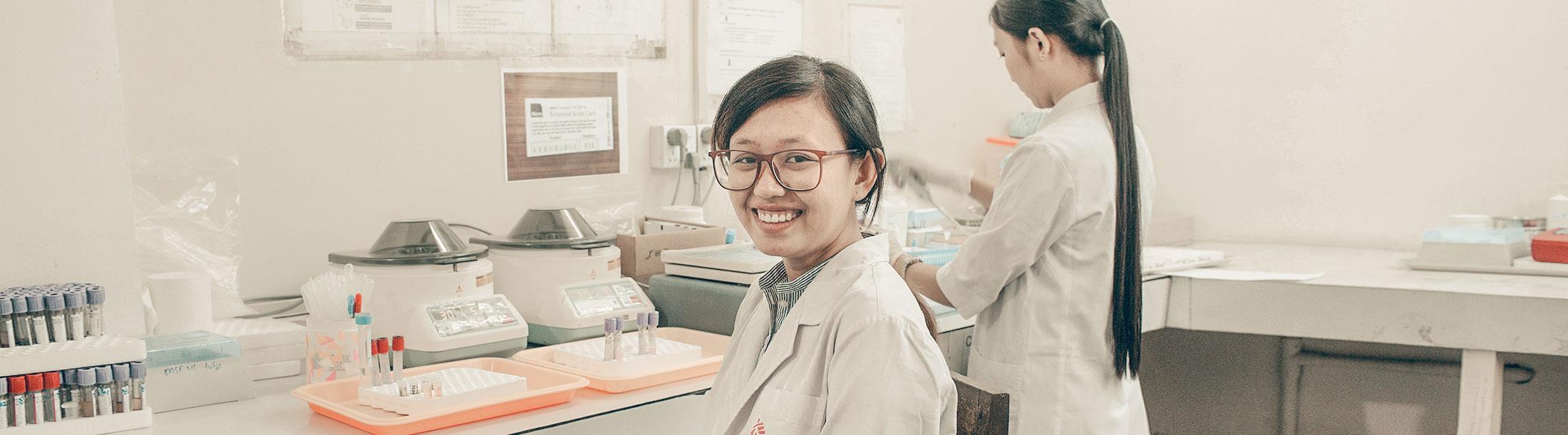 Tecnici di laboratorio