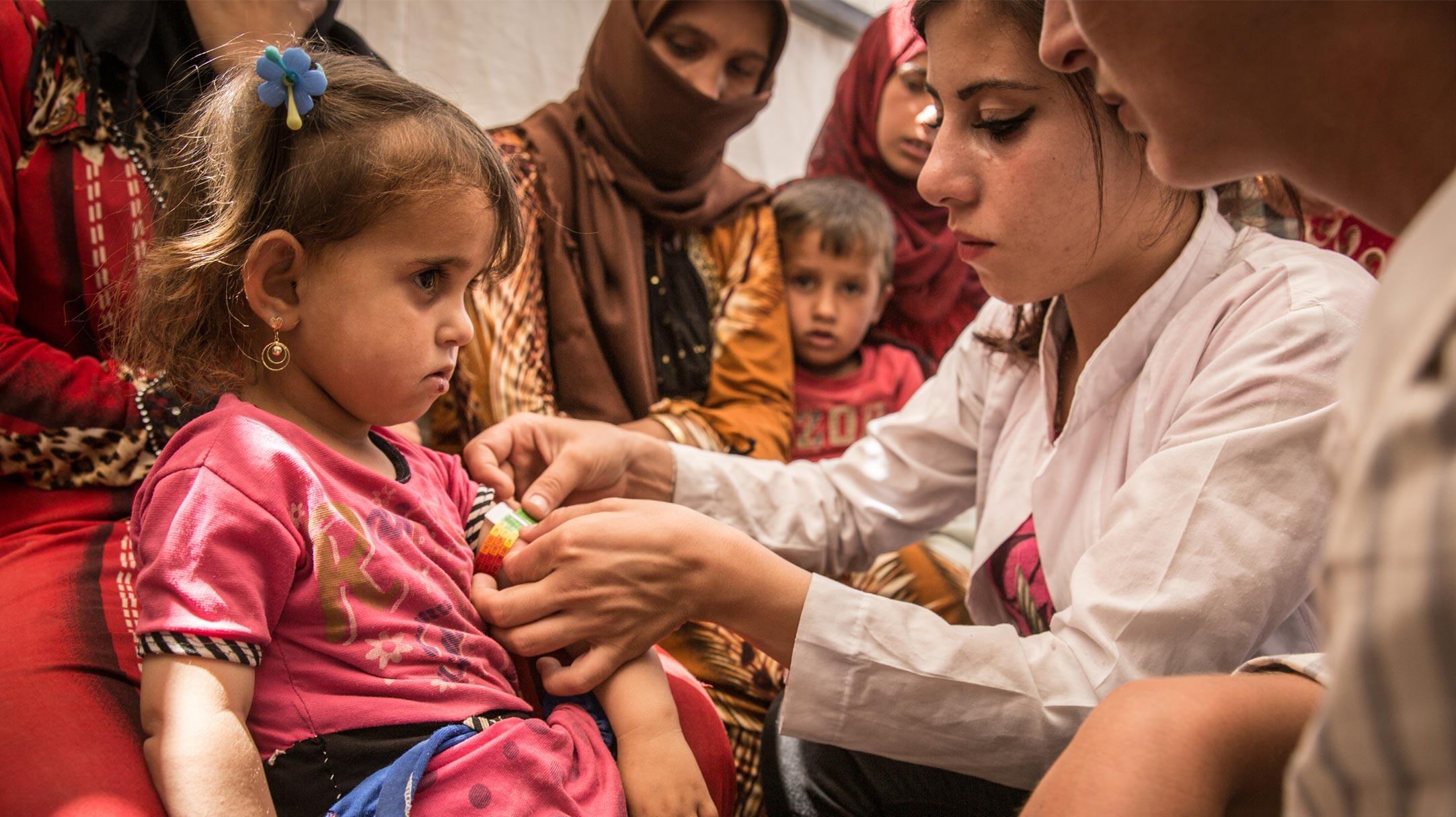 Staff di Medici Senza Frontiere fornisce cure mediche e assistenza umanitaria in Siria dal 2009