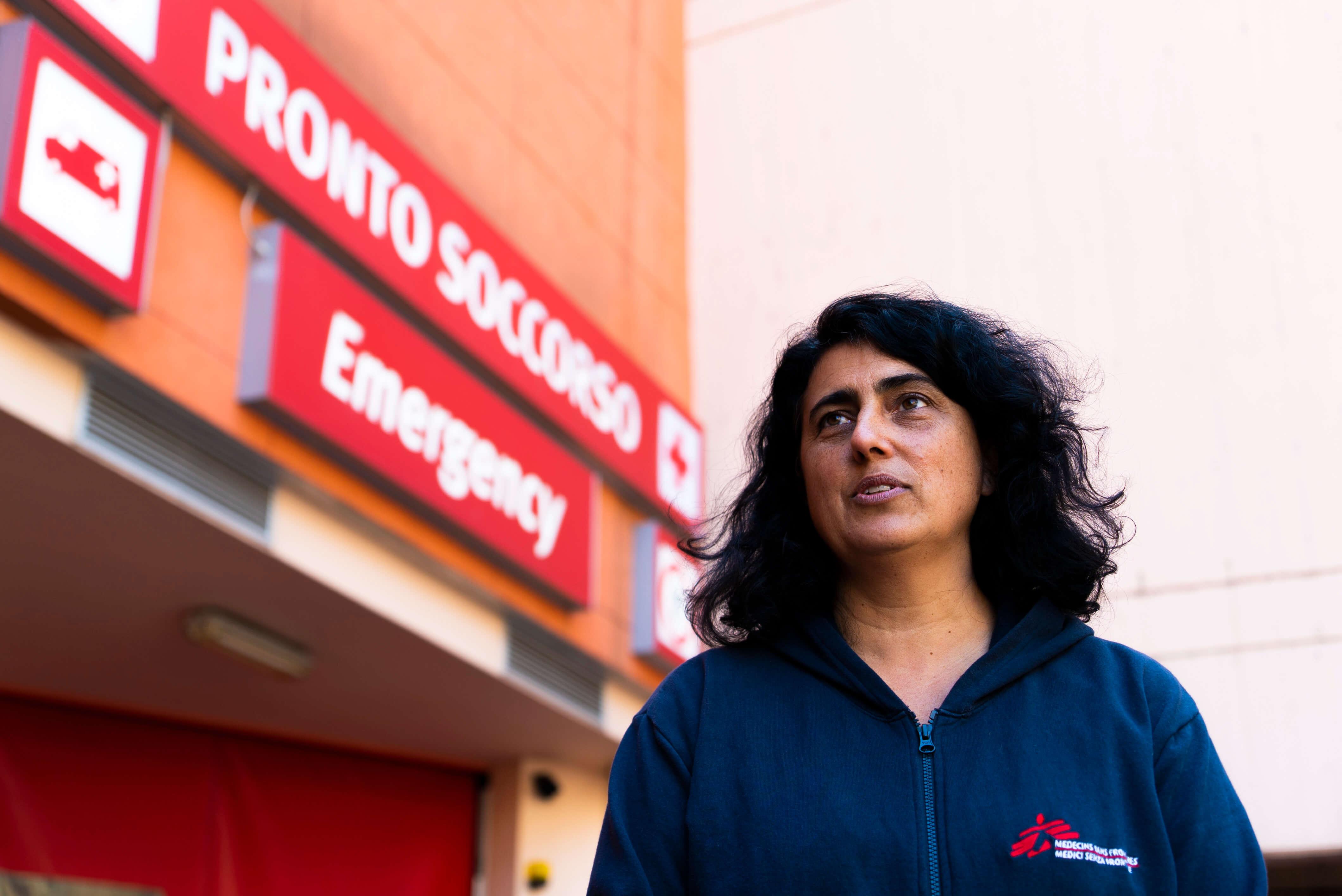 Claudia Lodesani presidente MSF Italia a Lodi