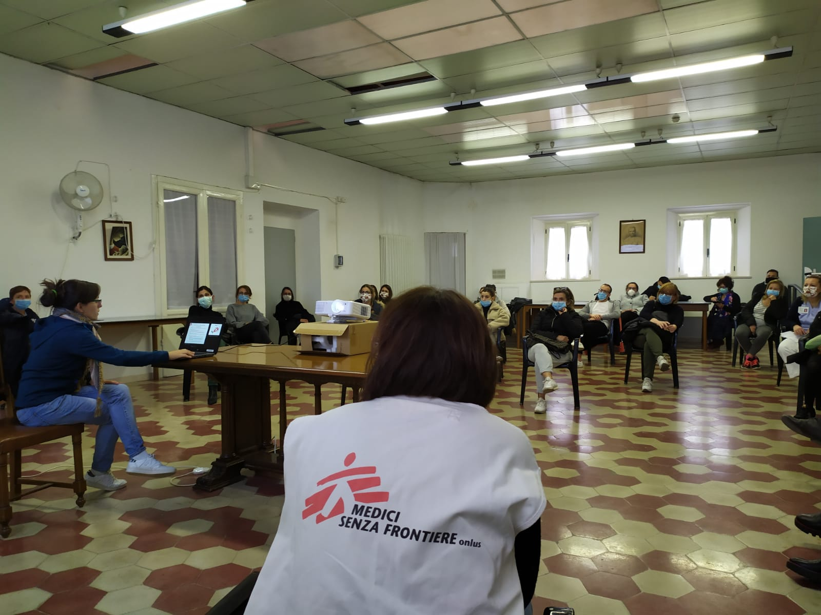 L'intervento di MSF nelle Marche