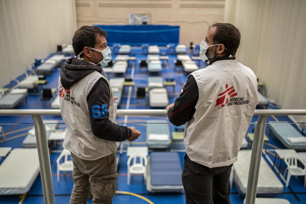 Coronavirus intervento MSF in Spagna