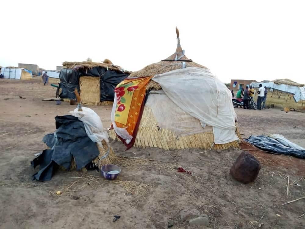 Tende Sfollati in Burkina Faso