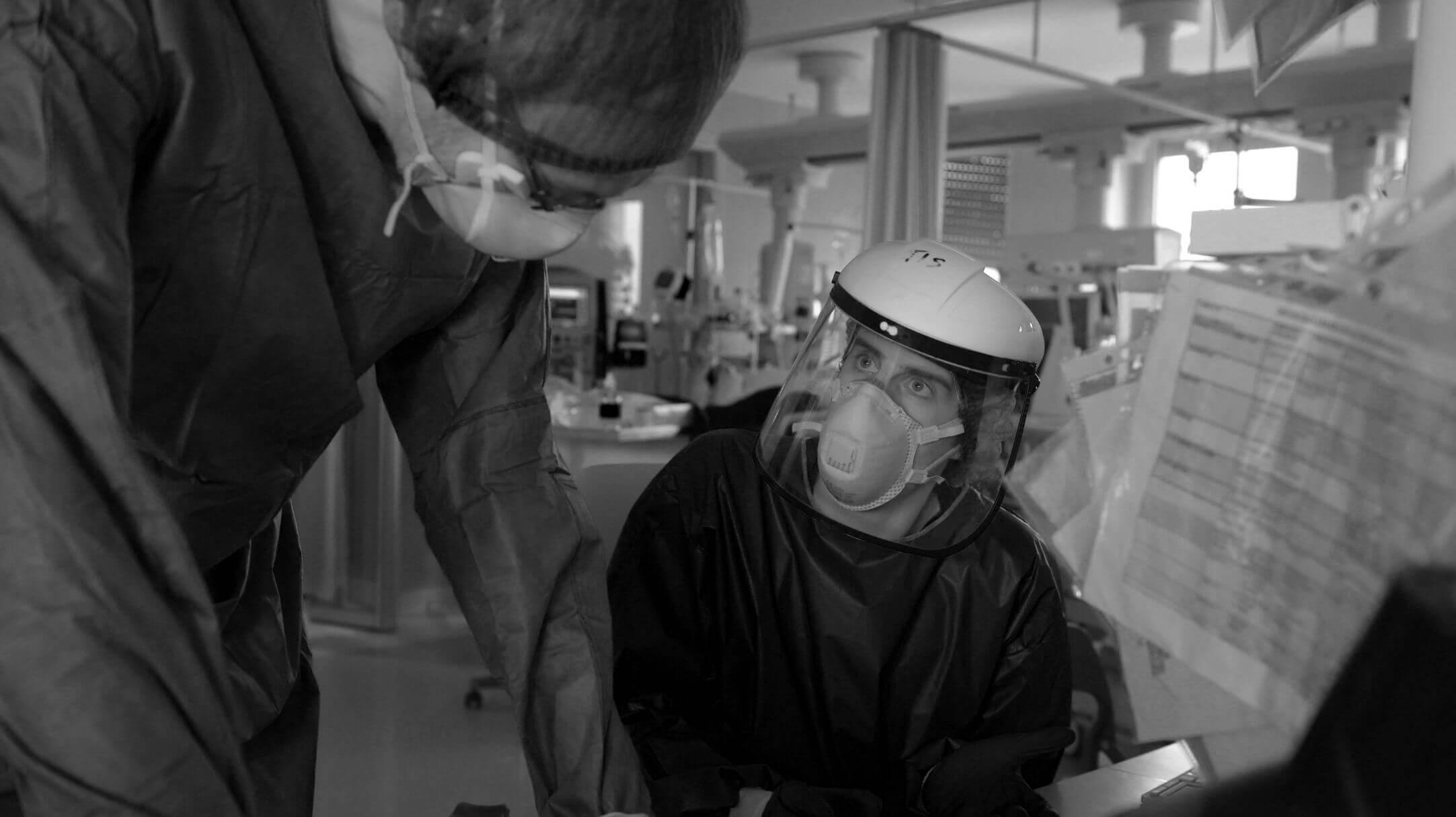 Italia, Lodi: Operatori sanitari