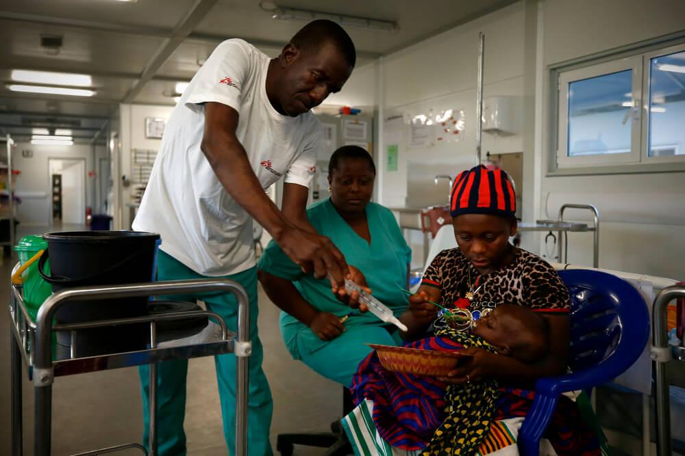 Ospedale di Kenema, Sierra Leone
