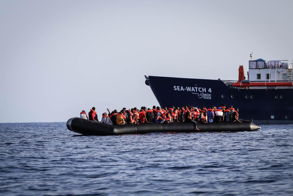 Sea Watch 4, salvataggio in mare