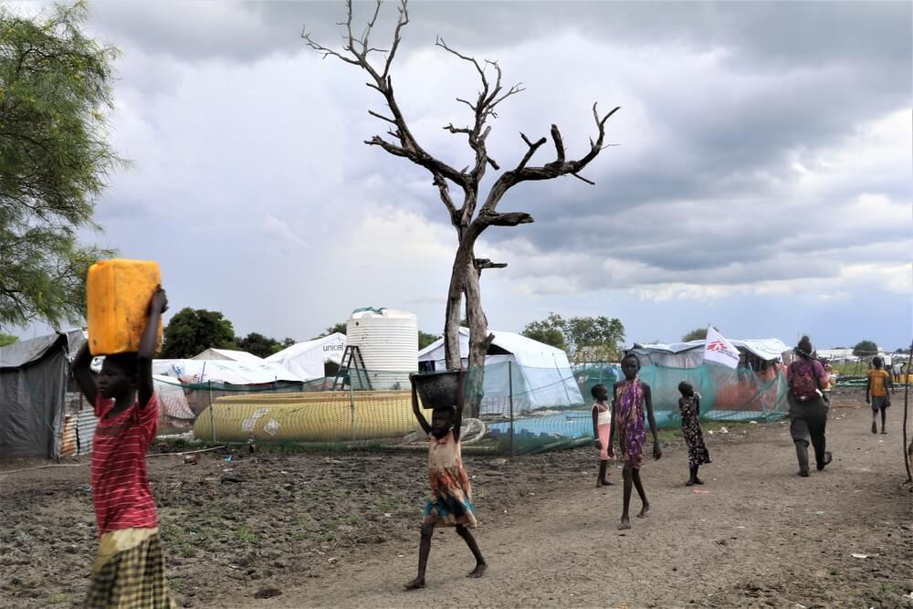 Centro di trattamento MSF a Pibor Town