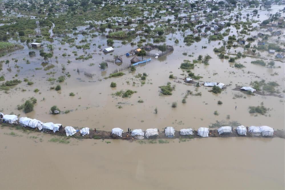 Inondazioni nel Greater Pibor, Sud Sudan.