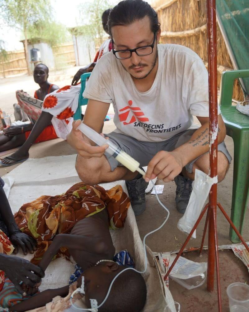Fabrizio Loddo infermiere MSF