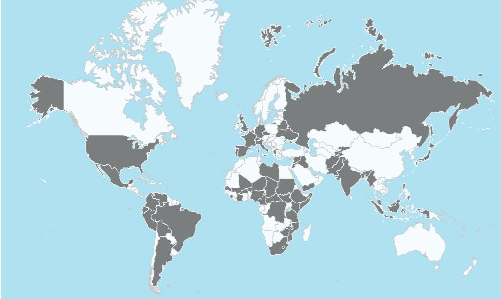 Covid-19: dove MSF è intervenuta nel mondo