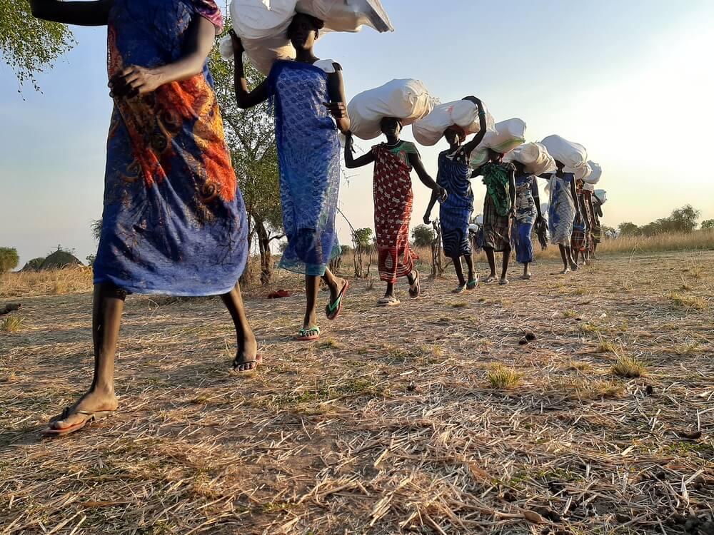Donne a Riang Sud Sudan