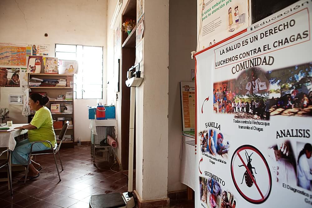Promozione della salute sul chagas in Paraguay