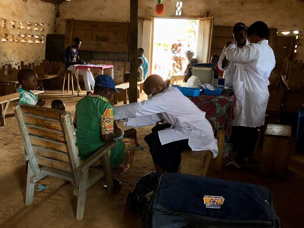 Vaccinazioni morbillo in Repubblica Democratica del Congo