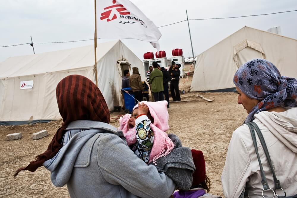 Clinica MSF a Domeez, Siria