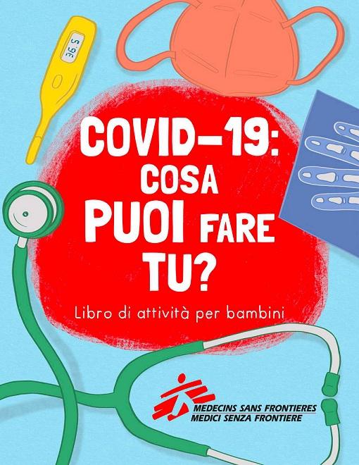 """Copertina libro """"Covid-19: cosa puoi fare tu?"""""""