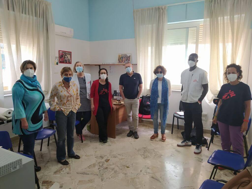 Team MSF nel progetto di Palermo