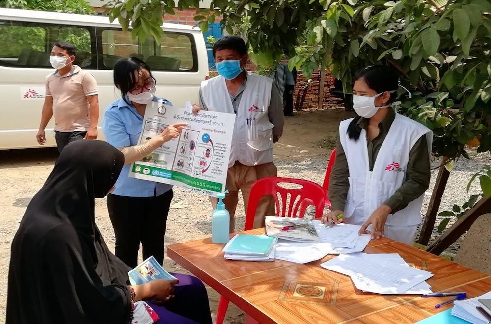 Team MSF in Cambogia