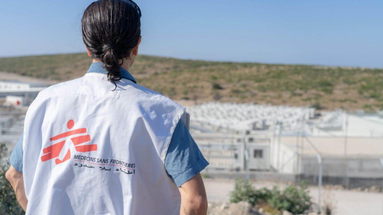 Nuovo campo rifugiati a Samos