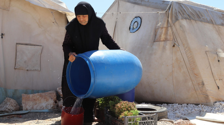 campo sfollati in siria